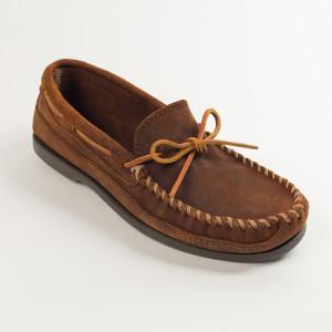 Men's Double Bottom Hardsole Brown
