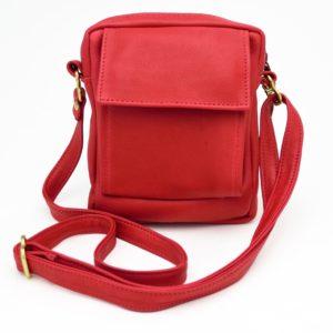 CC Pouch Leather Handbag