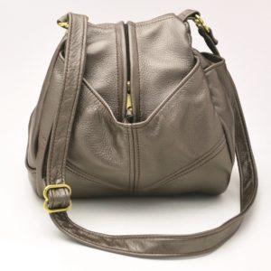 Teardrop Leather Handbag