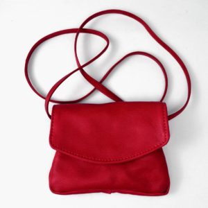 W-3SS Leather Handbag