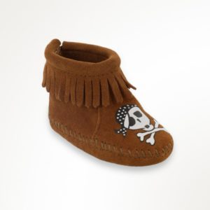 Hand painted infant boot