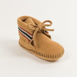 Infant Braid Bootie Tan