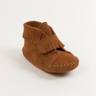 Infant Front Strap Bootie Brown
