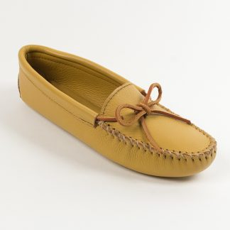 Womens Double Deerskin Moc