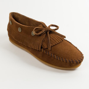 Women's Fringed Moc Dusty