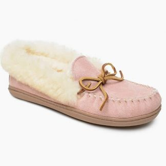 Women's Alpine Sheepskin Moc Pink Blush