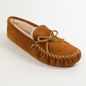 Men's Pile Lined Softsole Brown