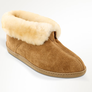 Men's Sheepskin Ankle Boot Tan
