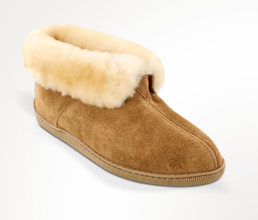 minnetonka s sheepskin ankle boot the moccasin shop