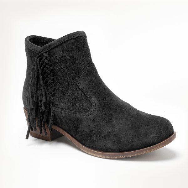 Women's Blake Boot Black Suede