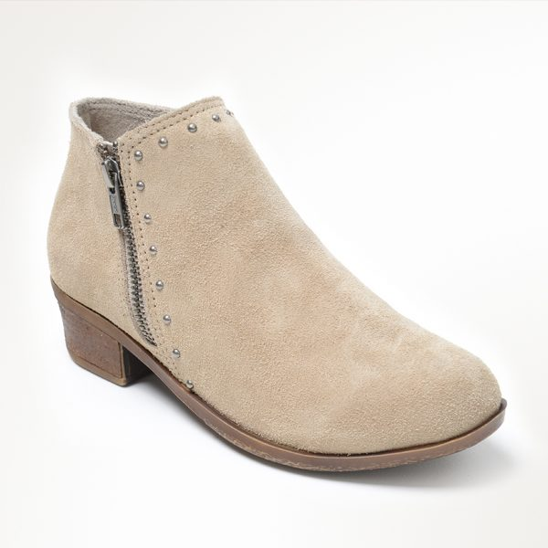 Women's Brie Boot Stone Suede